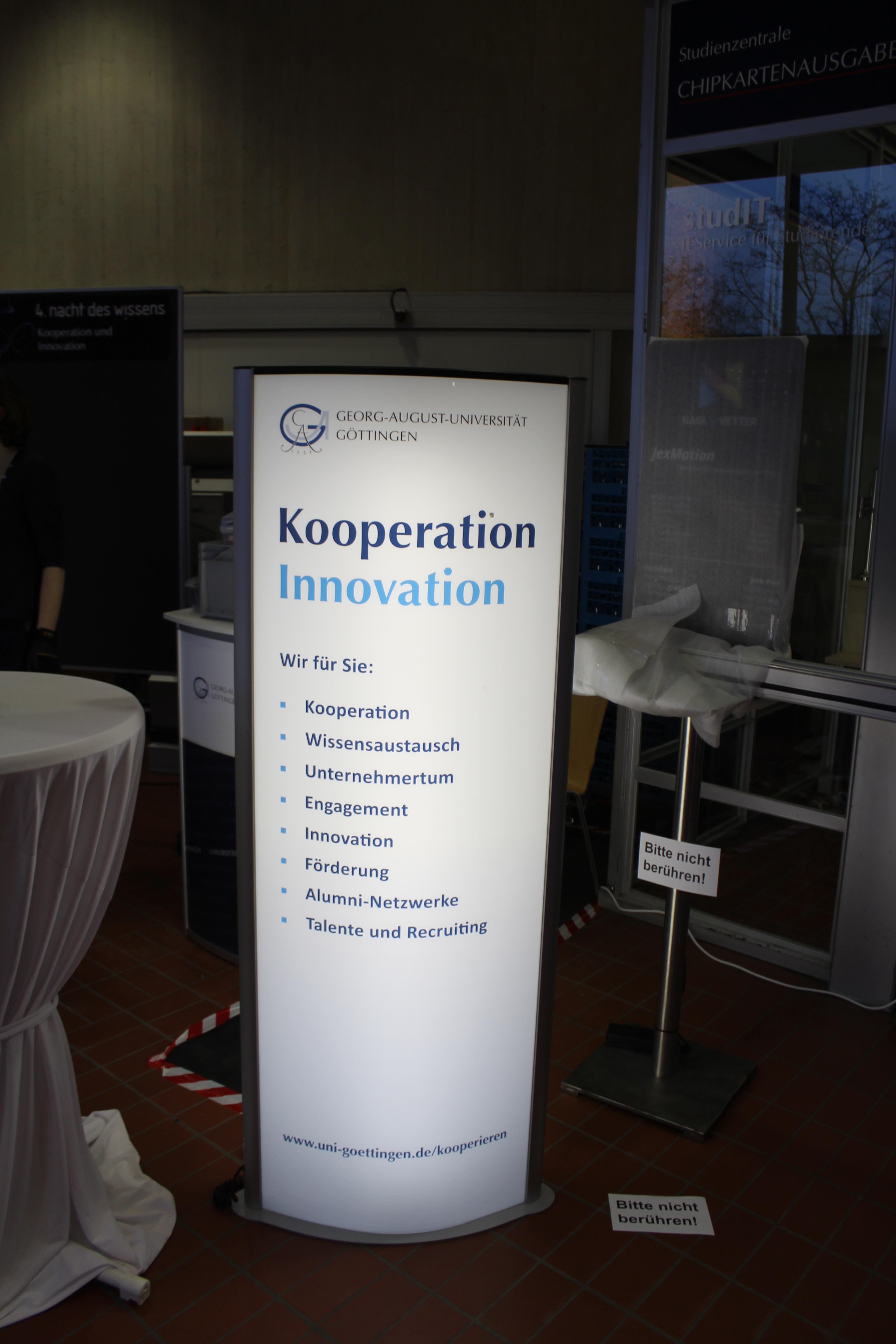 Alumni Lounge Bei Der 4 Nacht Des Wissens Alumni Göttingen